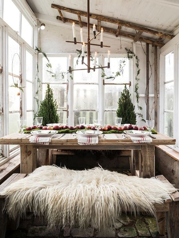 Scandinavian Tablescape